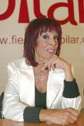 Lita Claver , la pregonera de las fiestas del Pilar