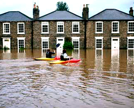 Inglaterra bajo agua