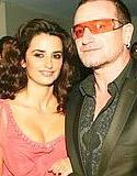 Penelope Cruz y Bono !?